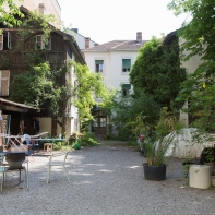 Der historische Innenhof